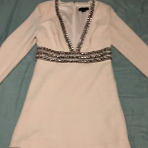 Marciano long sleeve mini dress
